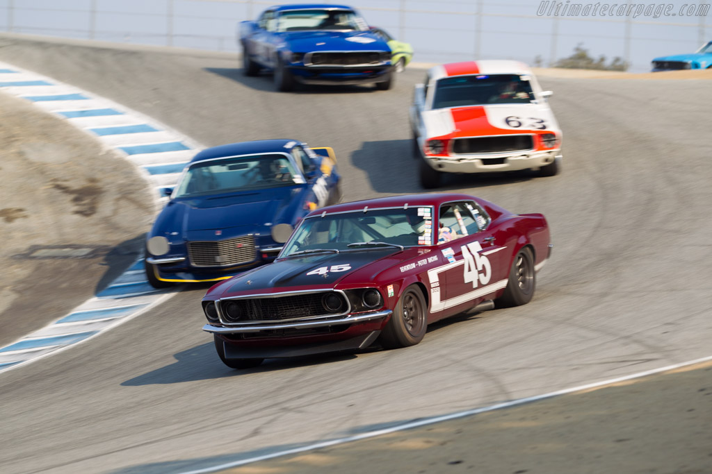 Ford Mustang Boss 302 - Chassis: 9T02F172108 - Driver: Ken Adams  - 2016 Monterey Motorsports Reunion