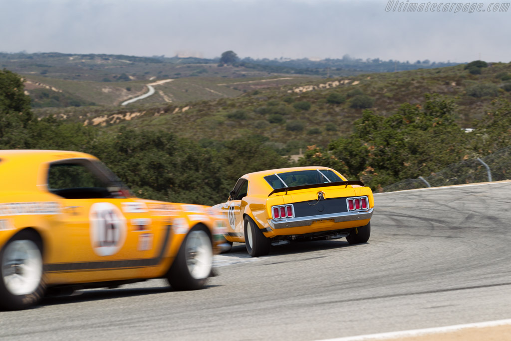 Ford Mustang Boss 302 - Chassis: 72AS30 - Driver: William (Chip) Connor  - 2016 Monterey Motorsports Reunion