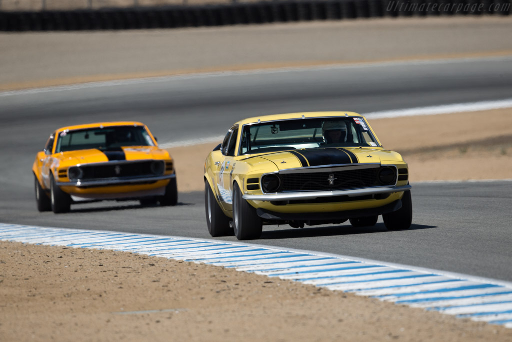 Ford Mustang Boss 302 - Chassis: OF02G144375 - Driver: Jim Halsey  - 2016 Monterey Motorsports Reunion