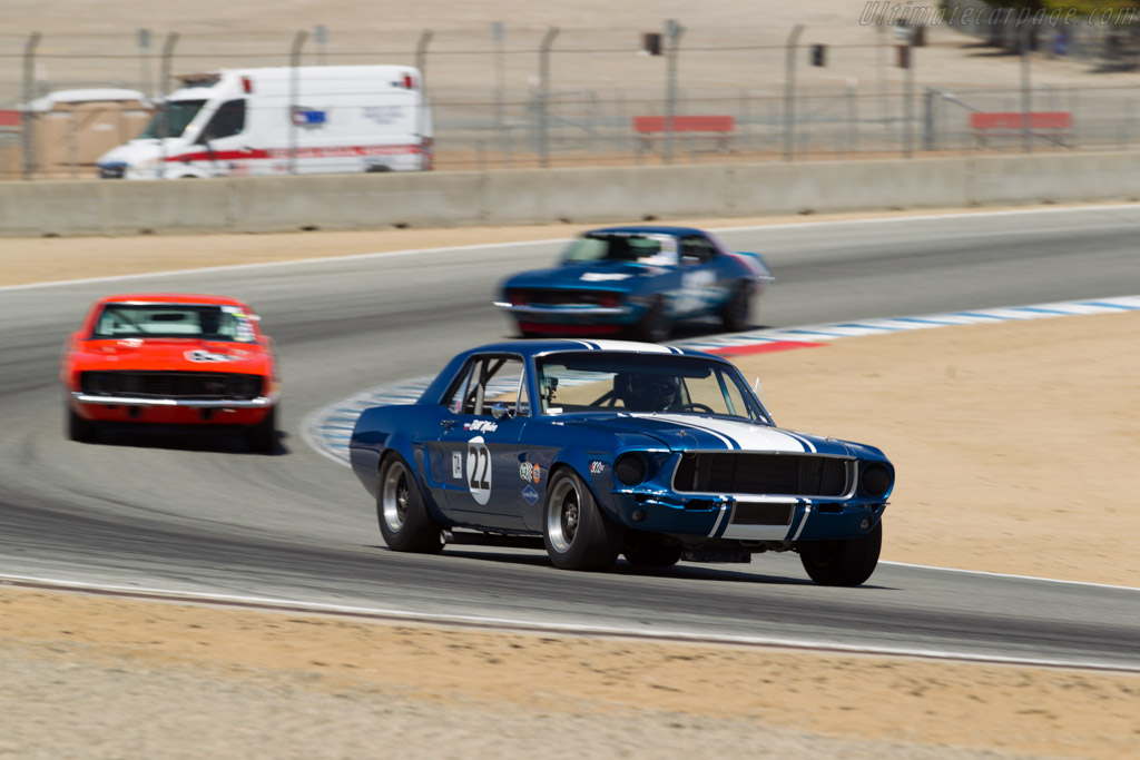 Ford Mustang TA - Chassis: 8F01S150874 - Driver: Karman Cusack  - 2016 Monterey Motorsports Reunion