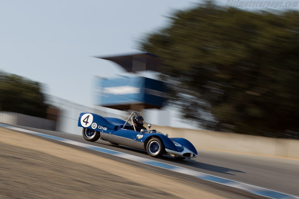 Genie Sports - Chassis: HUI-007 - Driver: Bob Roth  - 2016 Monterey Motorsports Reunion