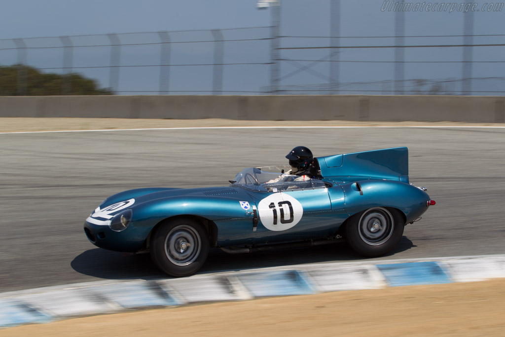 Jaguar D-Type - Chassis: XKD 502 - Driver: Chris MacAllister  - 2016 Monterey Motorsports Reunion