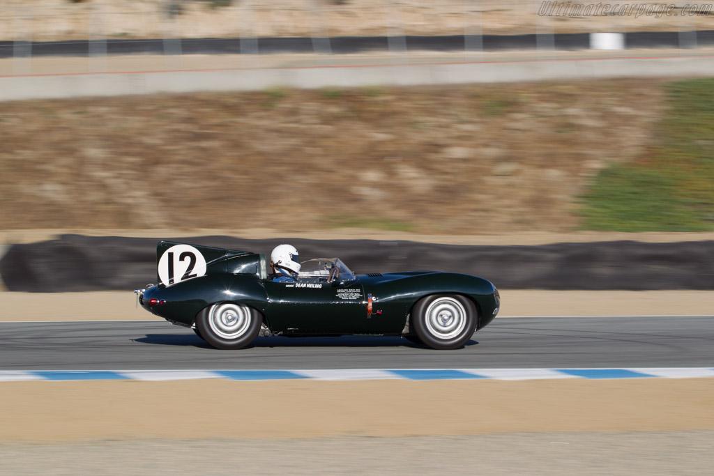 Jaguar D-Type - Chassis: XKD 403 - Driver: Dean Meilling  - 2016 Monterey Motorsports Reunion