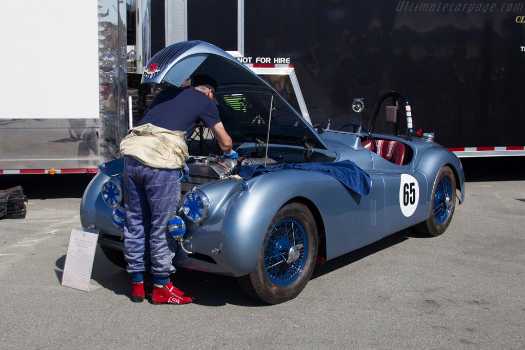 Jaguar XK120 - Chassis: S675543 - Entrant: Brian Andrews  - 2016 Monterey Motorsports Reunion