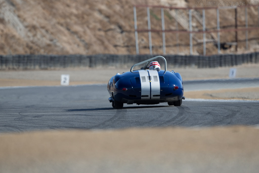 Lister Costin Chevrolet - Chassis: BHL 132 - Driver: Erickson Shirley  - 2016 Monterey Motorsports Reunion
