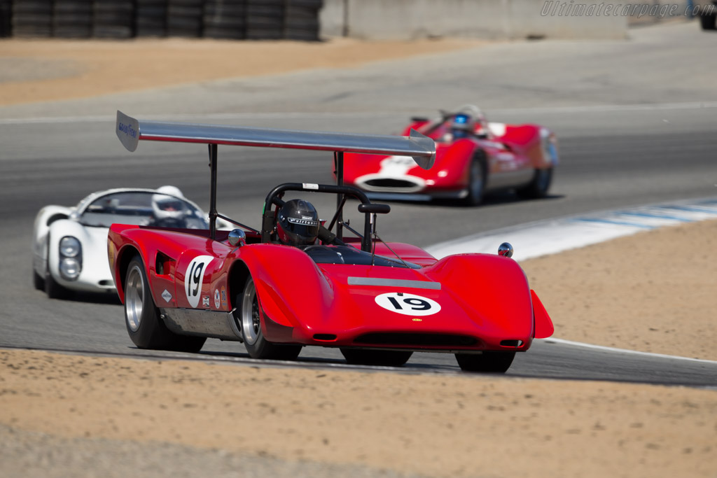 Lola T163 - Chassis: SL163/19 - Driver: Greg Mitchell  - 2016 Monterey Motorsports Reunion