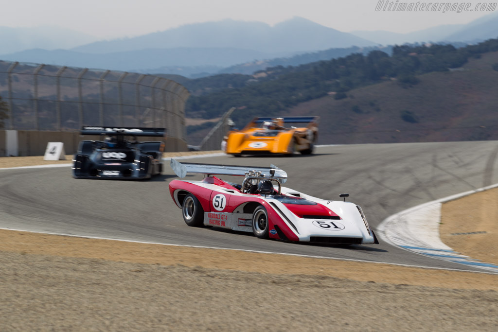 Lola T222 - Chassis: HU6 - Driver: Claude Malette  - 2016 Monterey Motorsports Reunion