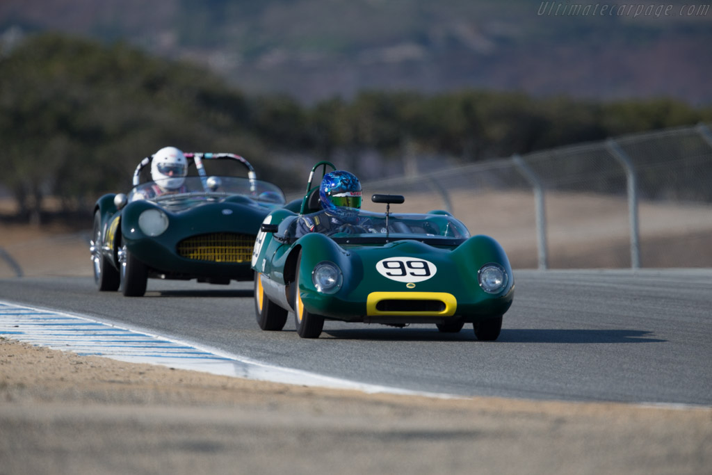 Lotus 17 - Chassis: 656 - Driver: Thor Johnson  - 2016 Monterey Motorsports Reunion