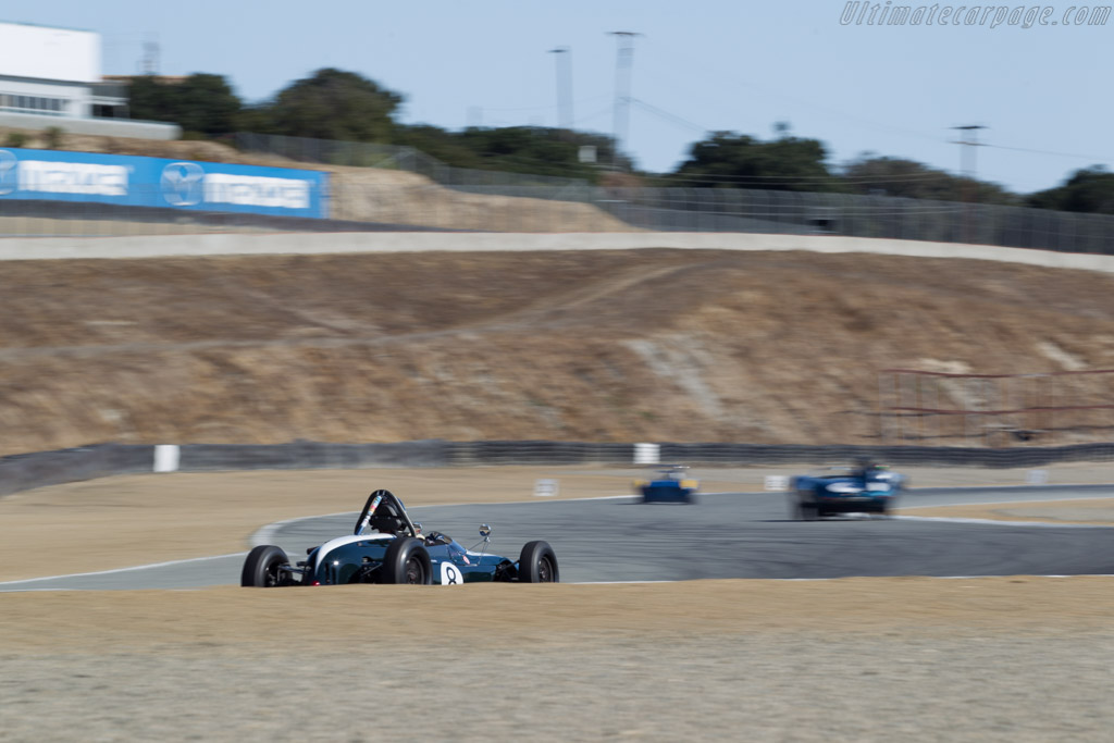 Lotus 27 - Chassis: 27/JM/1 - Driver: Philip Ribbs  - 2016 Monterey Motorsports Reunion