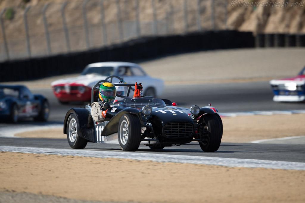 Lotus 7 - Chassis: SB1604 - Driver: Michael Taradash  - 2016 Monterey Motorsports Reunion