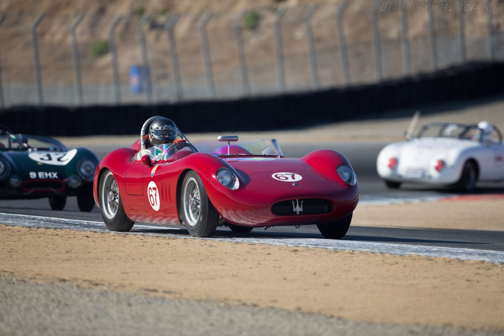 Maserati 200SI - Chassis: 2425 - Driver: Ned Spieker  - 2016 Monterey Motorsports Reunion