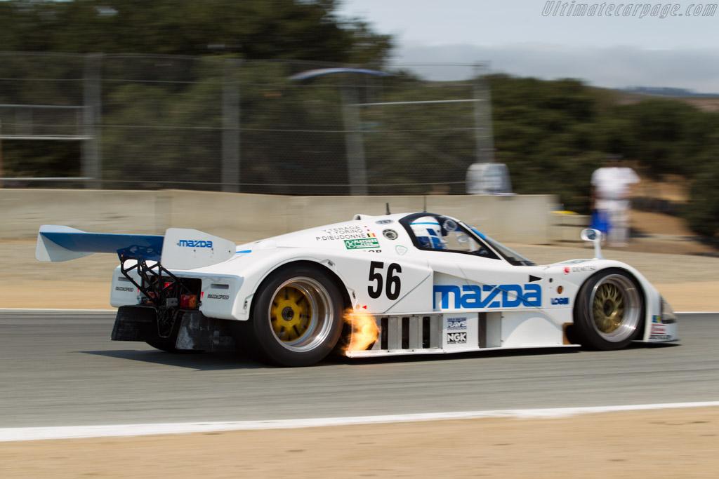 Mazda 787 - Chassis: 787 - 002 - Driver: Robert Davis  - 2016 Monterey Motorsports Reunion