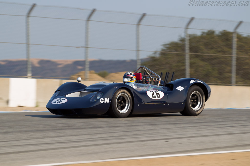 McLaren M1A - Chassis: 20-06 - Driver: Edith Arrowsmith  - 2016 Monterey Motorsports Reunion