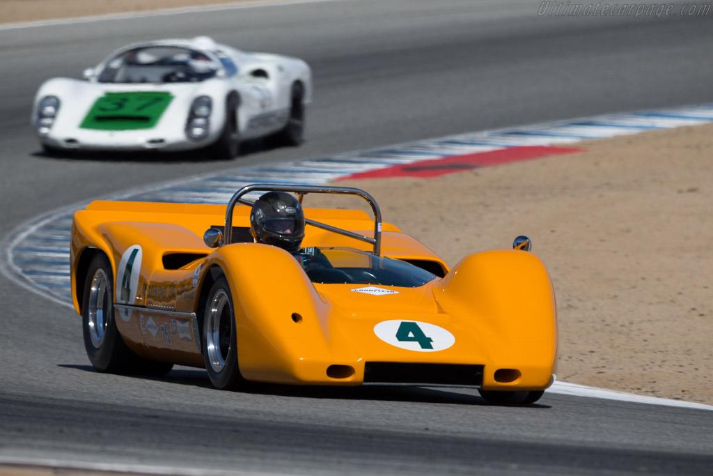McLaren M6A - Chassis: M6A/1 - Driver: Richard Griot   - 2016 Monterey Motorsports Reunion