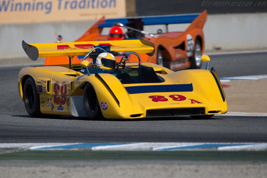 McLaren M8E Replica  - Driver: Duncan McKellar  - 2016 Monterey Motorsports Reunion
