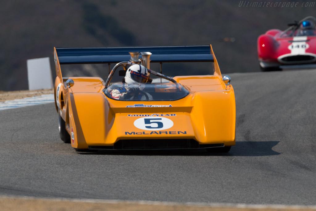McLaren M8F - Chassis: M8F/2 - Driver: Chris MacAllister  - 2016 Monterey Motorsports Reunion