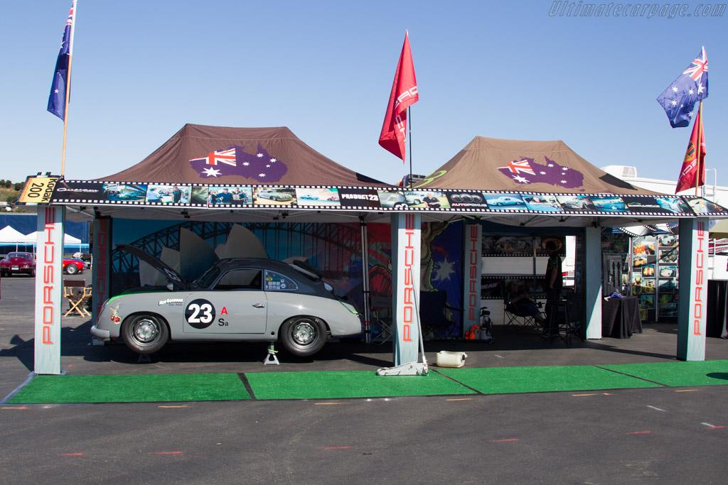 Porsche 356 - Chassis: 51094 - Entrant: Ron Goodman  - 2016 Monterey Motorsports Reunion