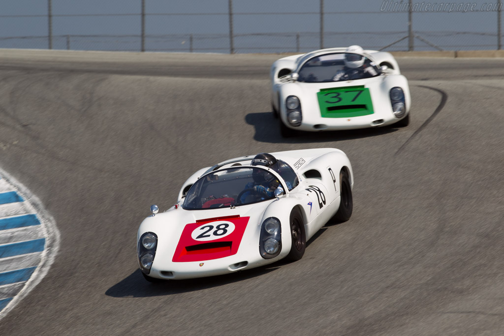 Porsche 910 - Chassis: 910-025 - Driver: Stephen Tein  - 2016 Monterey Motorsports Reunion