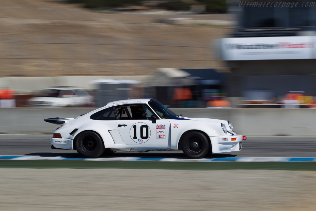 Porsche 911 Carrera RSR 3.0  - Driver: Cameron Healy  - 2016 Monterey Motorsports Reunion