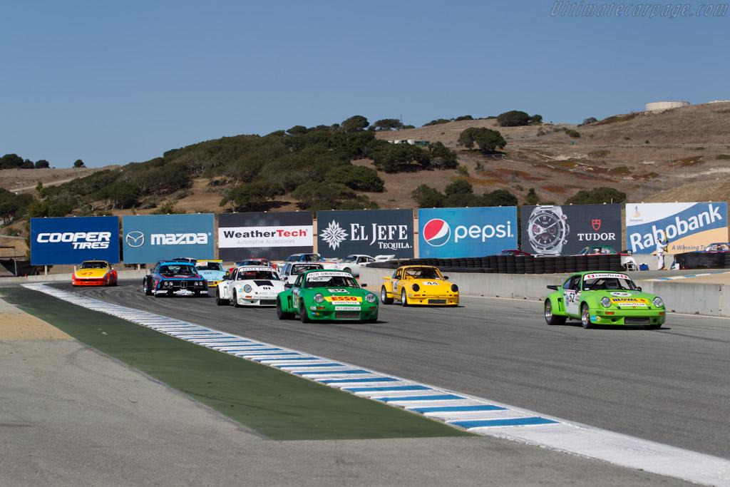 Porsche 911 RSR  - Driver: Dennis Singleton  - 2016 Monterey Motorsports Reunion
