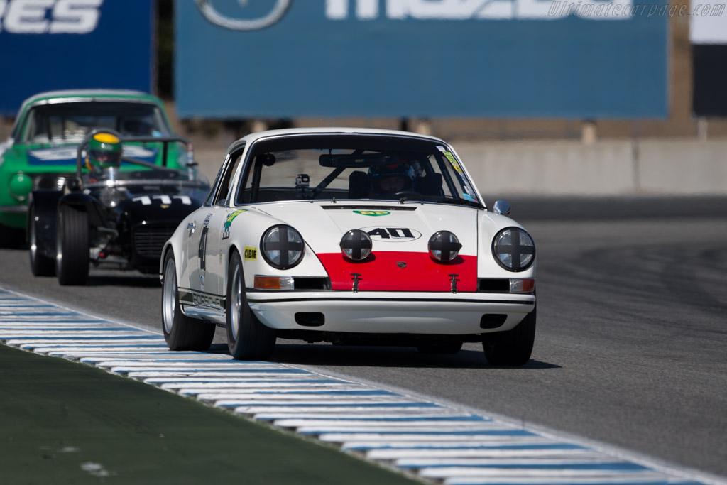 Porsche 911T/R - Chassis: 11820180 - Driver: Alan Terpins  - 2016 Monterey Motorsports Reunion