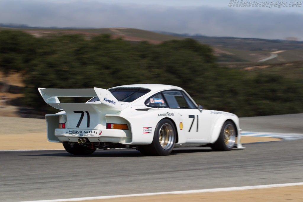 Porsche 934.5 - Chassis: 930 770 0958 - Driver: James Lawrence  - 2016 Monterey Motorsports Reunion