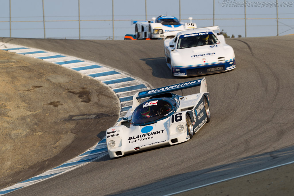 Porsche 962 - Chassis: 962-120 - Driver: Zak Brown  - 2016 Monterey Motorsports Reunion