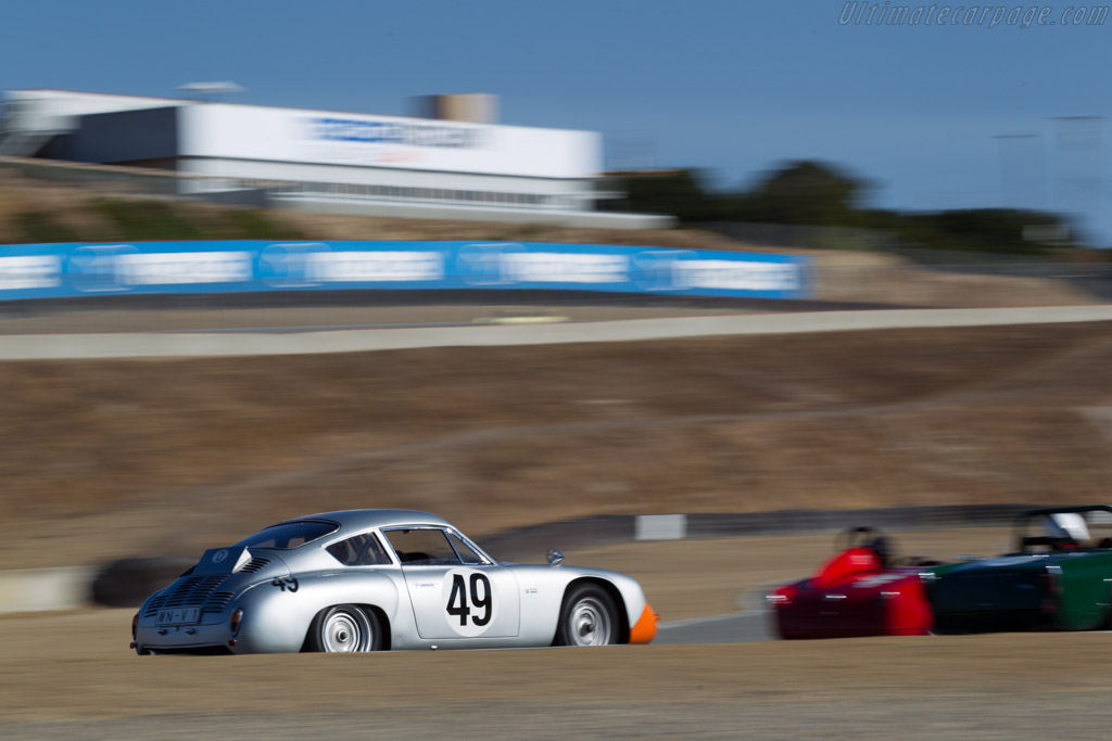 Porsche Abarth Carrera - Chassis: 1016 - Driver: Ranson Webster  - 2016 Monterey Motorsports Reunion