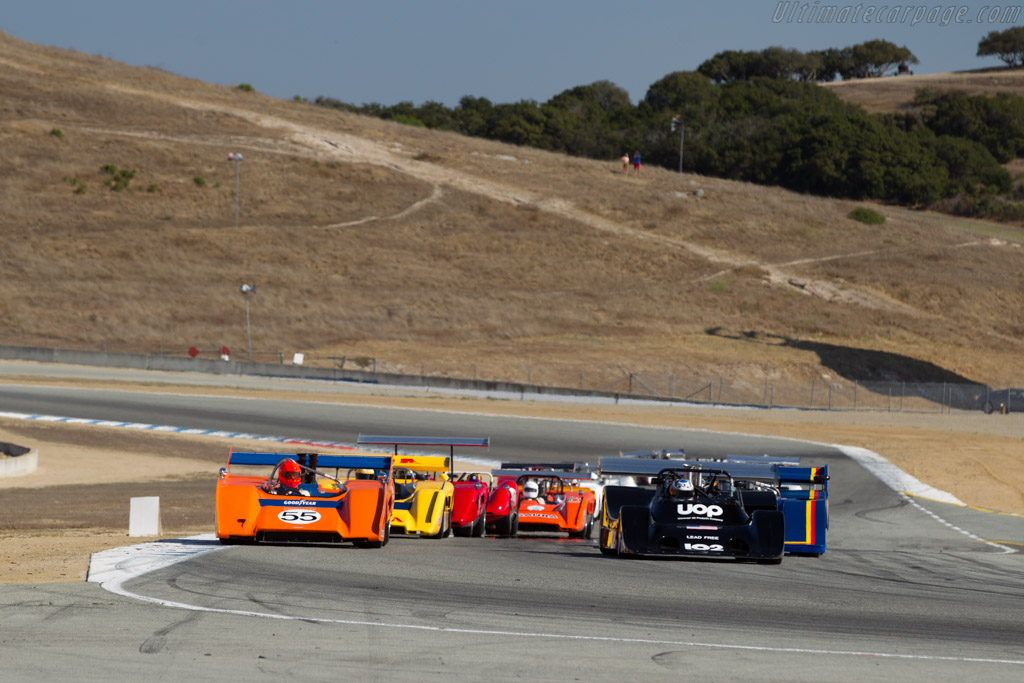 Shadow DN4 - Chassis: DN4-1P - Driver: Dave Handy  - 2016 Monterey Motorsports Reunion