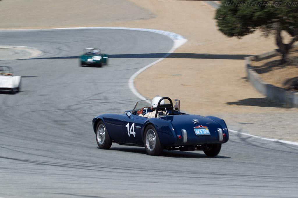 Siata 208S - Chassis: BS528 - Driver: Robert Davis  - 2016 Monterey Motorsports Reunion
