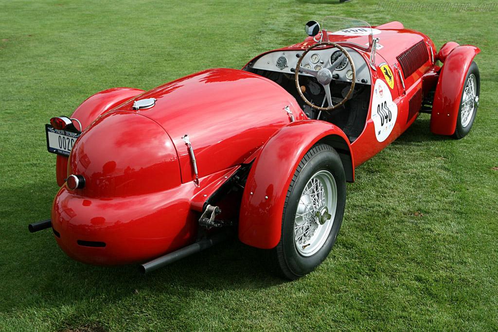 Ferrari 166 Spyder Corsa - Chassis: 002C - Entrant: James M. Glickenhaus  - 2006 The Quail, a Motorsports Gathering