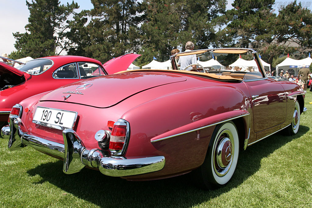 Mercedes-Benz 190 SL    - 2006 The Quail, a Motorsports Gathering