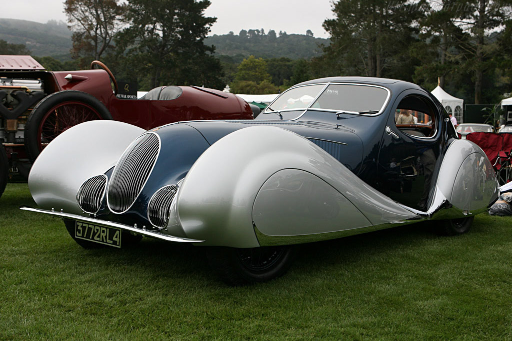 Talbot Lago T150 Figoni & Falaschi Teardrop Coupe - Chassis: 90107   - 2006 The Quail, a Motorsports Gathering