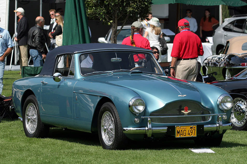 Aston Martin DB2 MkIII Drophead Coupe    - 2008 The Quail, a Motorsports Gathering