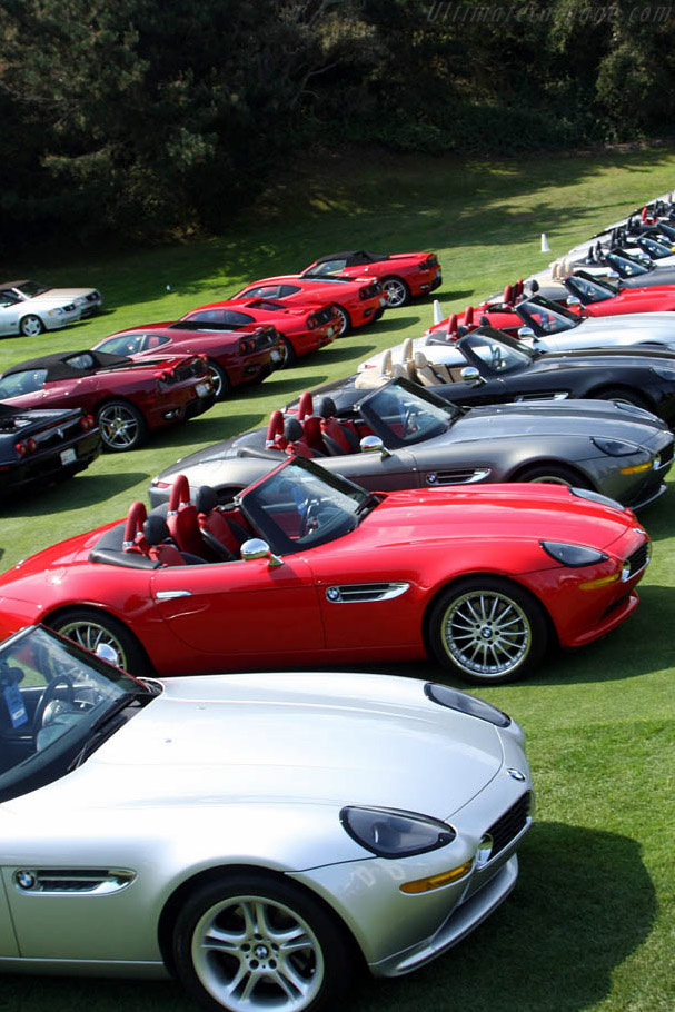 BMW Z8s    - 2008 The Quail, a Motorsports Gathering