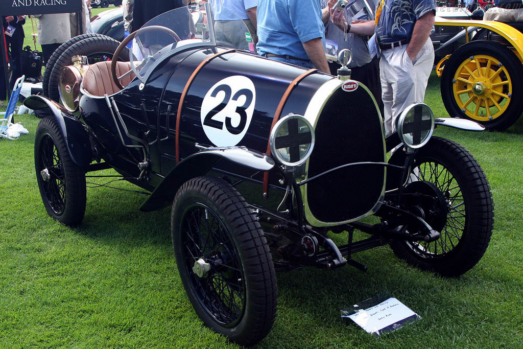 Bugatti Type 13 Brescia - Chassis: BC 004 - Entrant: Gary Bird  - 2008 The Quail, a Motorsports Gathering