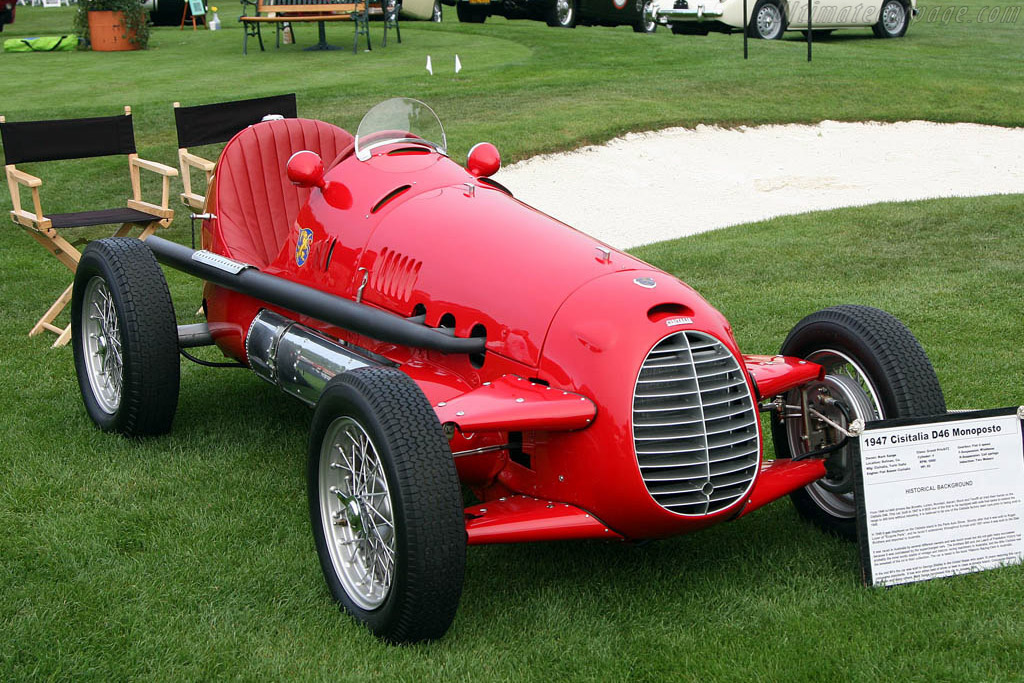 Cisitalia D46 - Chassis: 0020   - 2008 The Quail, a Motorsports Gathering