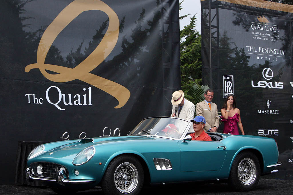 Ferrari 250 GT California Spyder - Chassis: 3099GT   - 2008 The Quail, a Motorsports Gathering