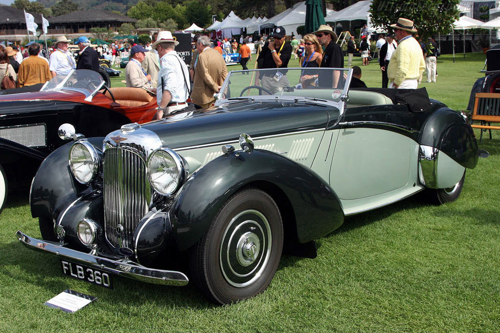 Lagonda V12 Rapide Drophead Coupe - Chassis: 14076 - Entrant: The Hon. Sir Michael Kadoorie  - 2008 The Quail, a Motorsports Gathering