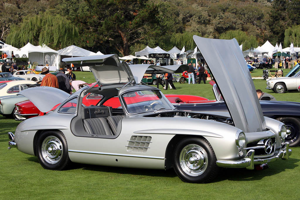 Mercedes Benz 300 SL Gull Wing Coupe    - 2008 The Quail, a Motorsports Gathering