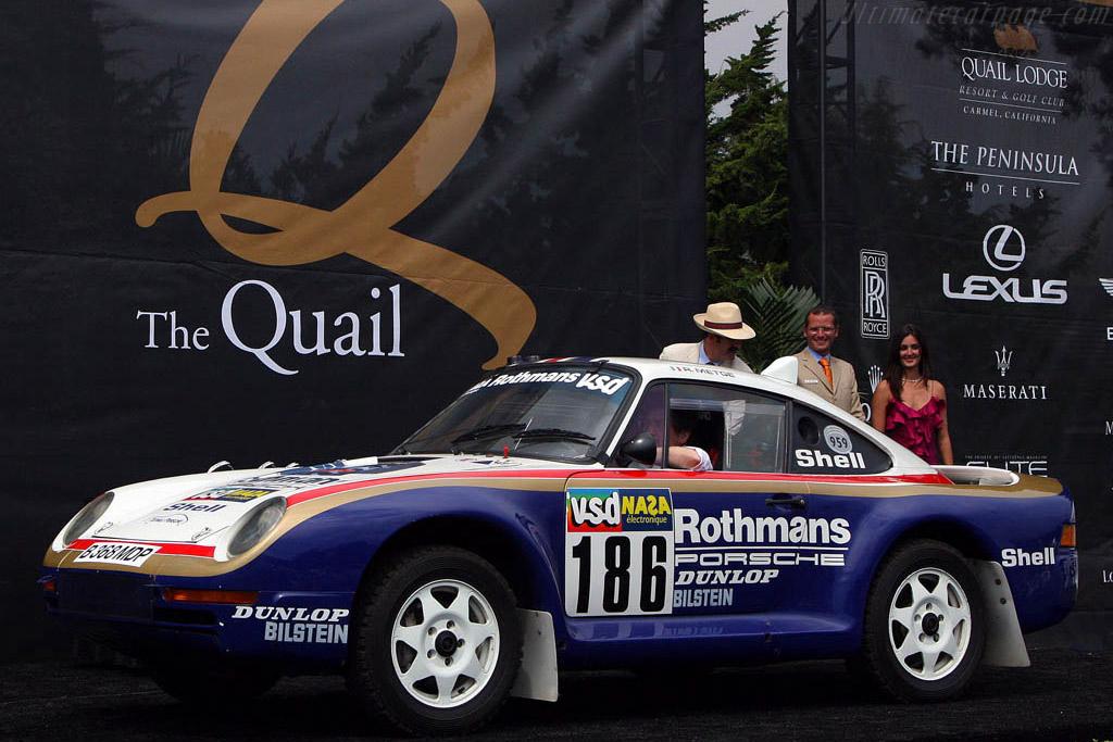Porsche 959 'Dakar' - Chassis: WP0ZZZ93ZFS010015   - 2008 The Quail, a Motorsports Gathering