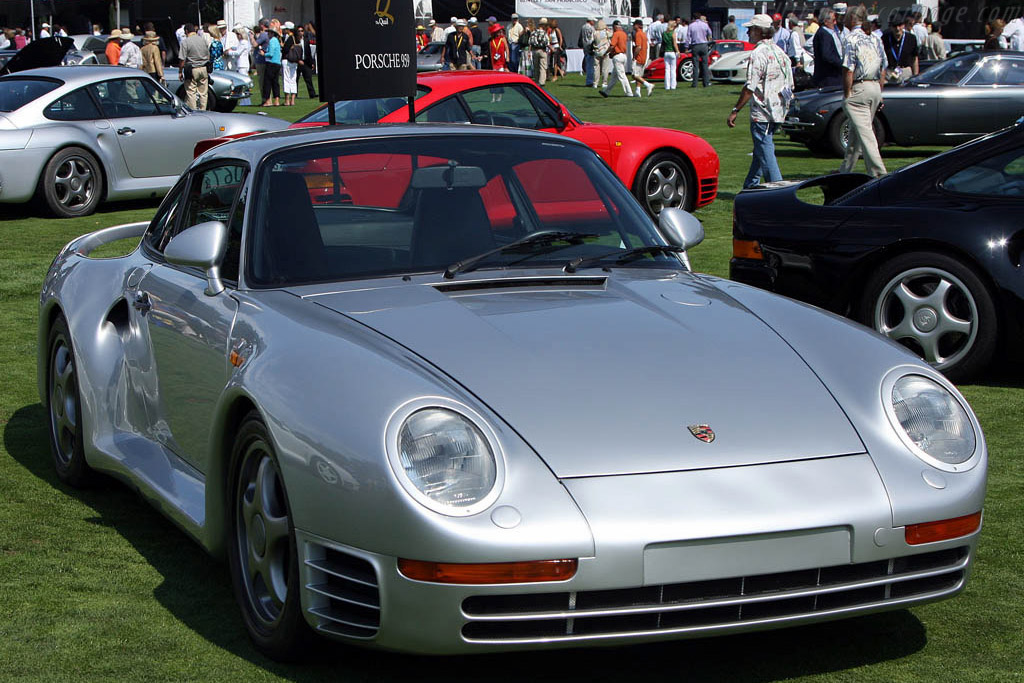 Porsche 959    - 2008 The Quail, a Motorsports Gathering