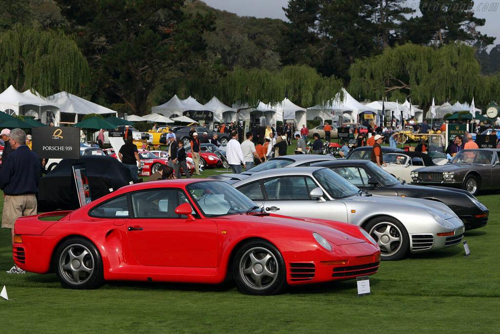 Porsche 959    - 2008 The Quail, a Motorsports Gathering