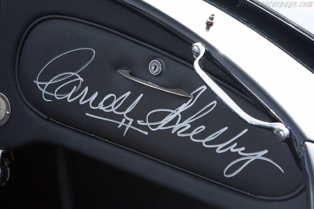 Shelby Cobra 289    - 2008 The Quail, a Motorsports Gathering
