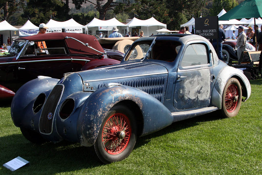 Talbot Lago T150 CSS Pourtout Coupe    - 2008 The Quail, a Motorsports Gathering