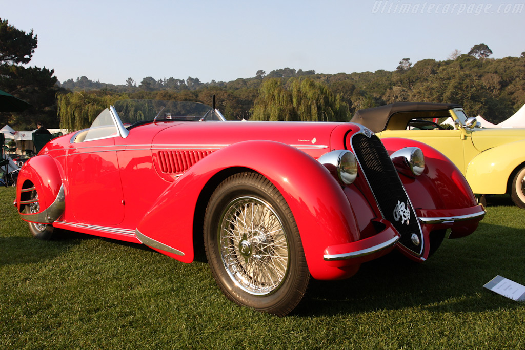 Alfa Romeo 8C 2900B Touring Spyder - Chassis: 412026   - 2009 The Quail, a Motorsports Gathering