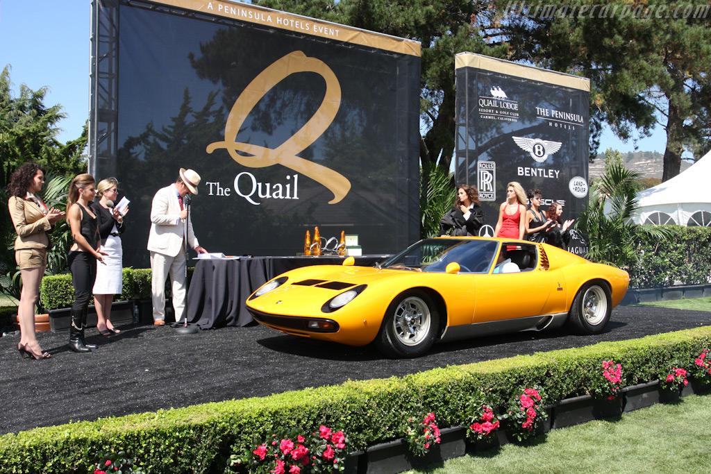 Lamborghini Miura    - 2009 The Quail, a Motorsports Gathering