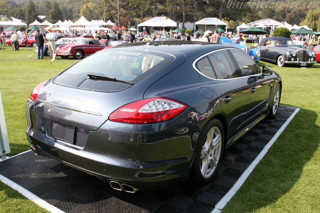 Porsche Panamera Turbo    - 2009 The Quail, a Motorsports Gathering