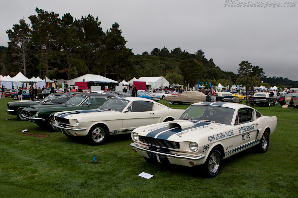 45 Years of the Shelby Mustang    - 2010 The Quail, a Motorsports Gathering