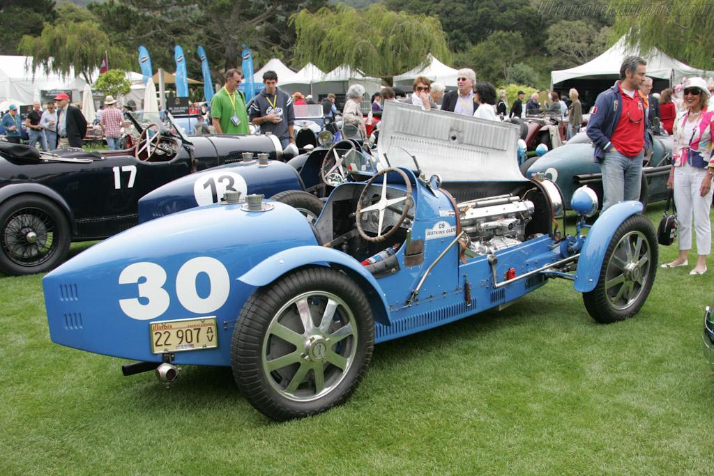 Bugatti Type 51   - 2010 The Quail, a Motorsports Gathering
